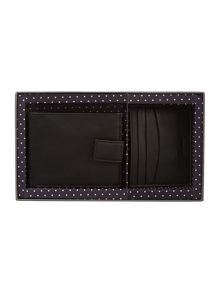Linea Wallet and Card Holder Gift Set