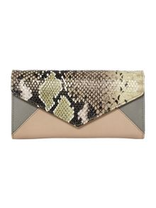 Envelope flapover purse