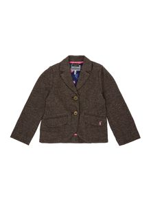 Joules Girls Tweed Blazer