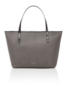 Kenneth Cole Dover street grey tote bag