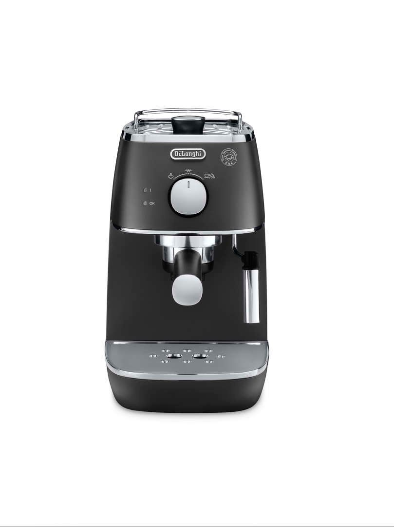 Delonghi Distinta Pump Espresso Machine Elegance Black