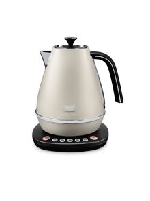 Delonghi Digital Kettle Pearl White