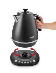 Delonghi Digital Kettle Elegance Black