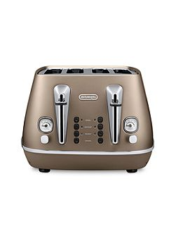 Delonghi Distinta 4S Toaster Future Bronze