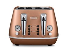 Delonghi Distinta 4S Toaster Style Copper