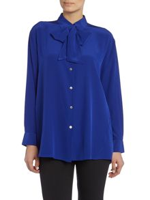 Acne Long Sleeved Tie Bow Shirt