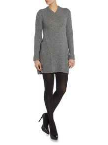 Acne Long Sleeved Knitted Shift Dress