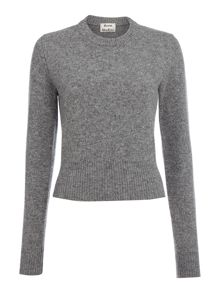 Acne Long Sleeved Cropped Knit