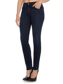 Armani Jeans J20 High rise super skinny jean in navy