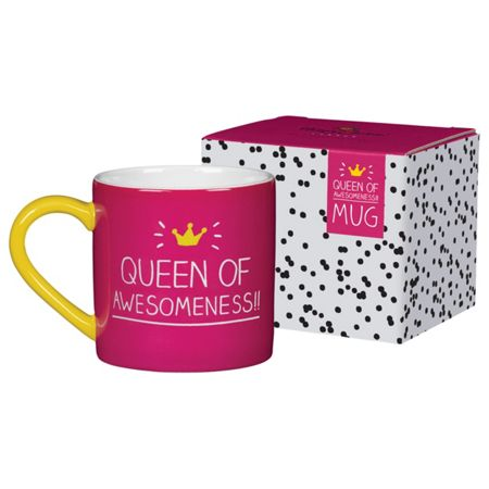 Happy Jackson Queen Of Awesomeness Mug
