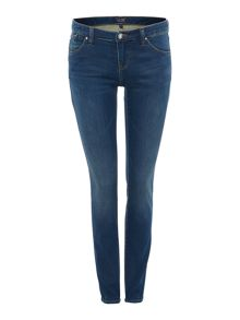 Armani Jeans J06 Low rise super skinny jean in navy