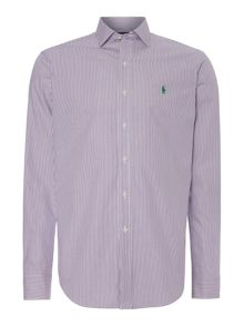 Polo Ralph Lauren Golf Fine Stripe Non-Iron Dress Shirt