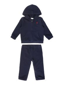 Baby Boys Small Pony Player Tracksuit Set