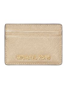 Jet set gold cardholder