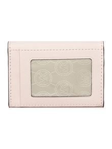 Jet set Travel pale pink small flapover coin purse