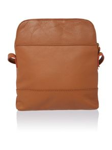 Kingsway large double zip crossbody bag