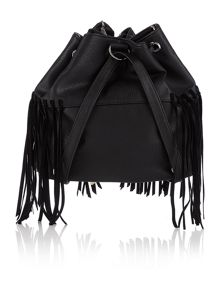 Label Lab Ellie fringe backpack