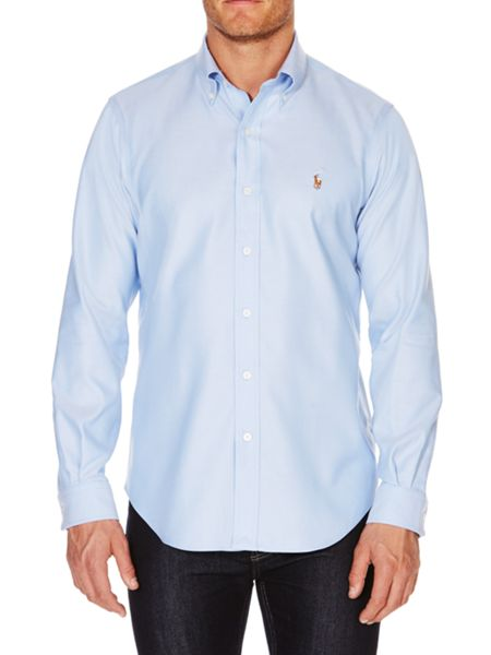 Polo Ralph Lauren Golf Plain Oxford Non-Iron Dress Shirt