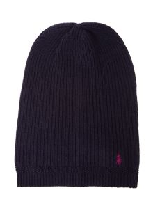 Polo Ralph Lauren Girls Knitted Slouchy Beanie Hat