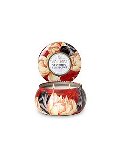 Voluspa Yuzu Rose Stonecrop 2 Wick Tin