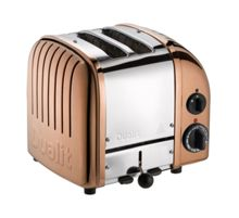 2 Slot Classic Toaster Copper