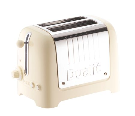 Dualit 2 slot Lite Cream Toaster