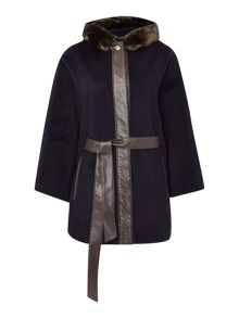 Ellen Tracy Cape coat