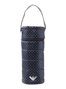 Armani Junior Polka dot bottle holder