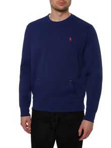 Polo Ralph Lauren Golf Plain Crew Neck Sweatshirt With Pocket