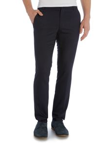 Heldor Slim Fit Flannel Tailored Trousers