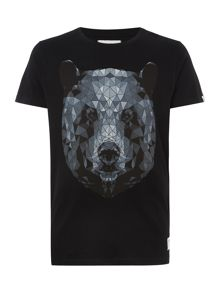 Graphic Crew Neck Loose Fit T-Shirt