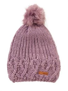 name it Girls Pom Pom Bobble Hat