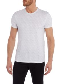 Ben Sherman Optic circular geo t-shirt