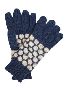 Linea Weekend Circle Knit Glove