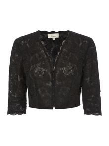 Corded lace occasion jacket