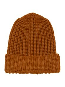 Label Lab Chunky Knit Turn Cuff Beanie
