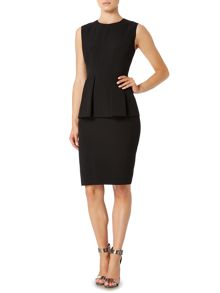 Pied a Terre Bramble peplum dress