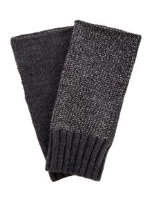 Label Lab Fingerless lurex glove