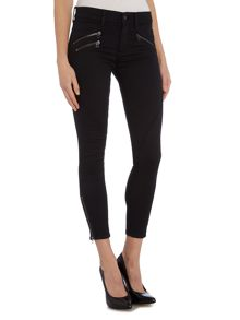 Polo Ralph Lauren Moto cropped zip jeans