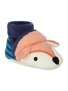 Joules Boys Fox Slippers