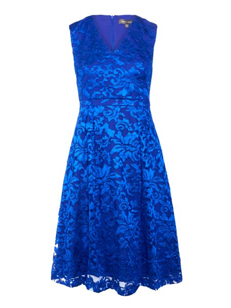 Pied a Terre Lace full skirt dress