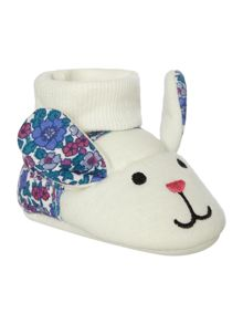 Joules Girls Hare Slippers