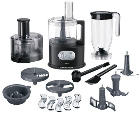 Braun Food Processor FP5160BK