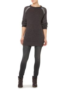 Linea Weekend Metallic twinkle jumper