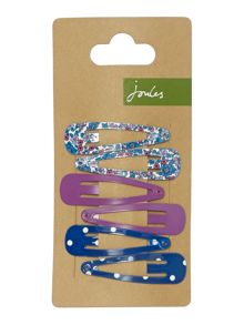 Joules Girls 3 Pack Hair Clips