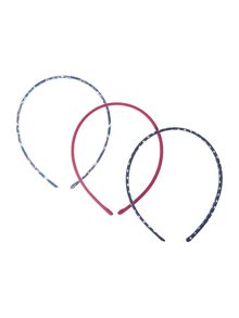 Girls 3 Pack Headbands