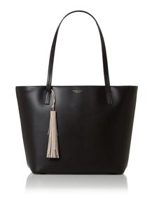 Radley De beauvoir black large tote bag