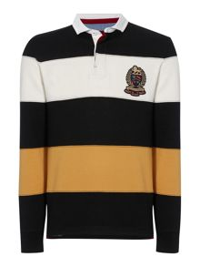Howick Belford Stripe Long Sleeve Rugby Top