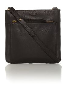 Richmond small black cross body bag