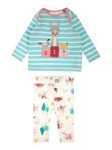 Joules Girls Gymkhana Two Piece Set